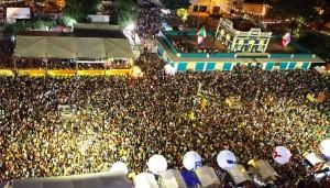 10.A cidade de Mossoró realiza uma das maiores festas juninas do Nordeste brasileiro, o Mossoró Cidade Junina. Um grande evento com quadrilhas, apresentações musicais, além de barracas com comidas típicas e projetos culturais, que chega a atrair mais de um milhão de turistas.